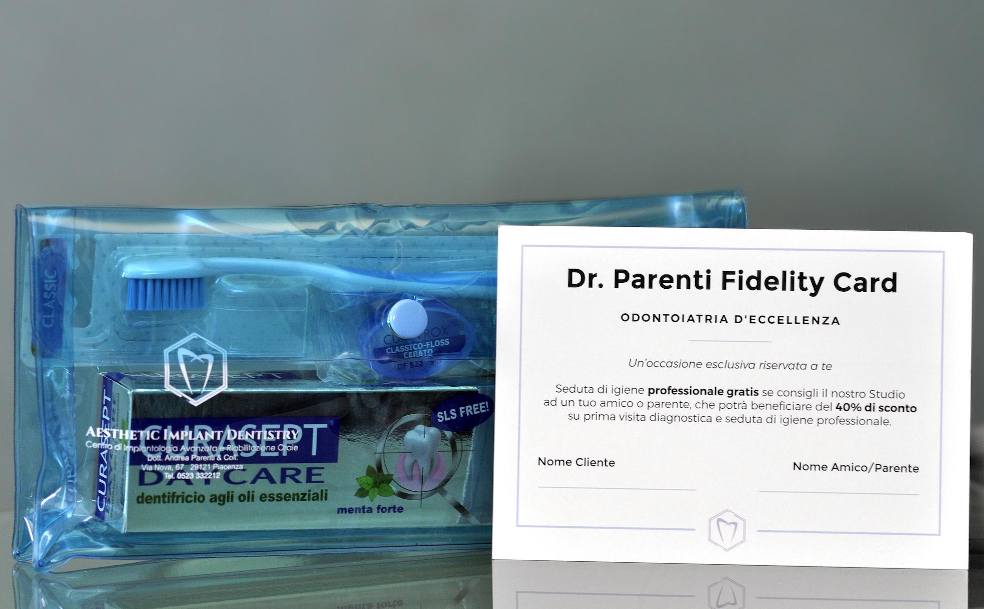 Dr. Parenti Fidelity Card